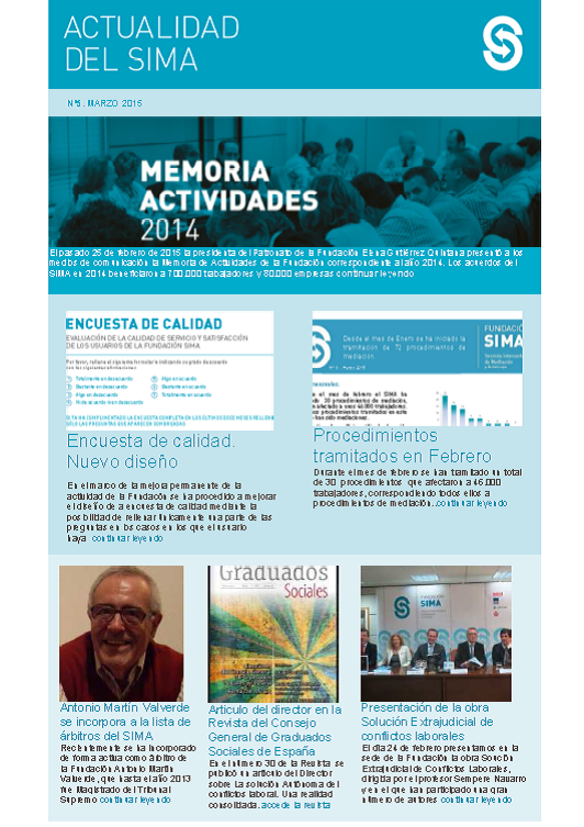 Newsletter 5 Marzo